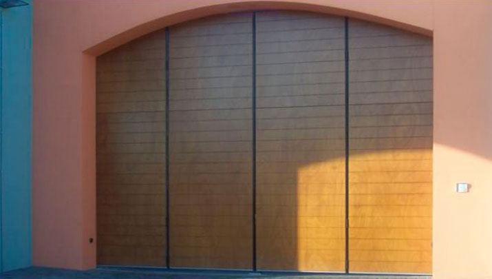 Porte a libro garage dimensioni tutte le immagini per la - Porte finestre a libro ...