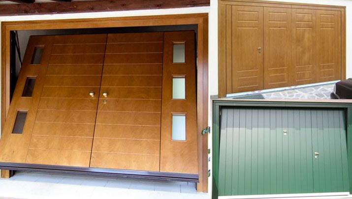 Porte basculanti per garage, portoni manuali e automatici - NIGMA ITALIA - BG