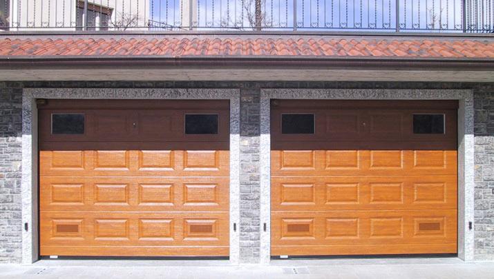 Portoni sezionali per garage, portoni manuali e automatici - NIGMA ITALIA - BG