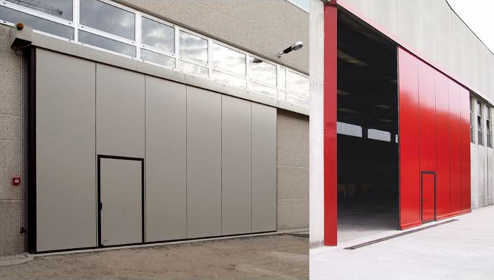 Portoni industriali scorrevoli, chiusure rigide scorrevoli - NIGMA ITALIA - BG
