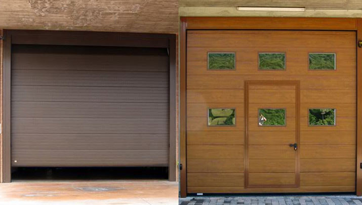 Portoni sezionali chiusure rigide industriali nigma - Portoni garage con finestre ...